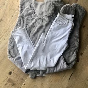 J Brand Skinny White Jeans size 27